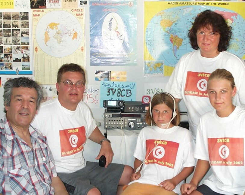 dxpedition team